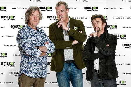 Nieuwe show van Clarkson, Hammond en May heet The Grand Tour