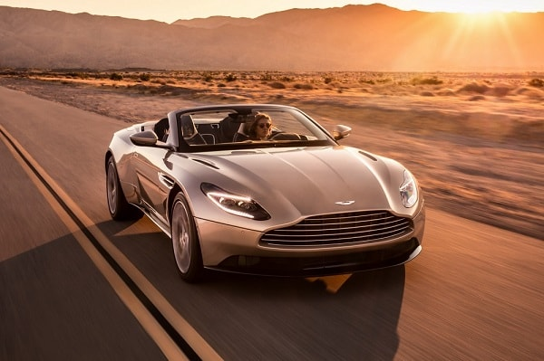 Aston Martin DB11 Volante is officieel