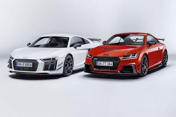 Audi Sport Performance Parts voor TT en R8