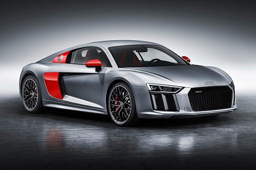 Audi toont gelimiteerde R8 Coupé Audi Sport Edition in New York