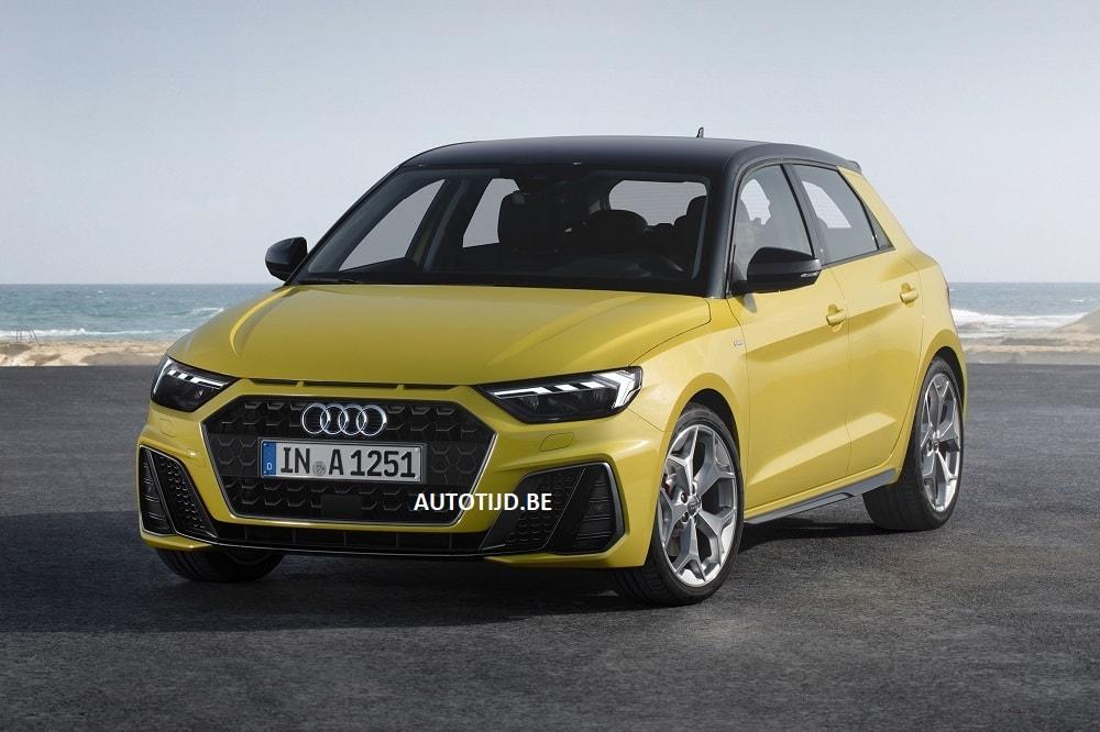 In primeur: dit is de nieuwe Audi A1