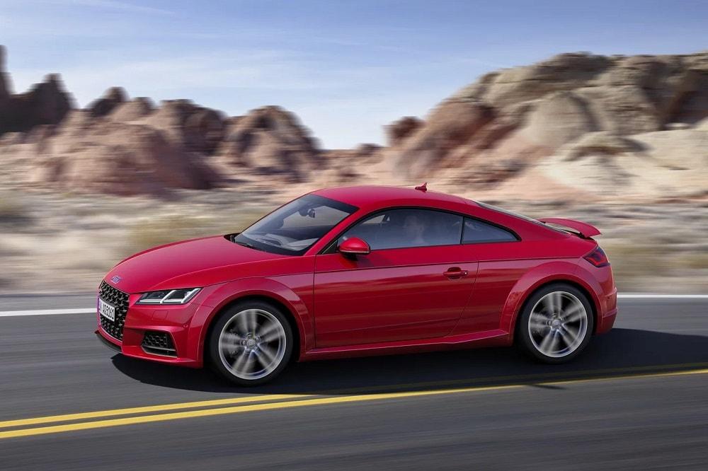Afmetingen Audi Tt Coupé 2019 40 Tfsi 197 Pk Benzine 7 Traps S