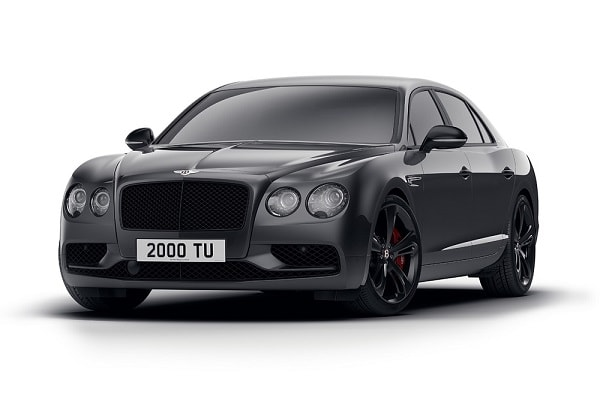 Bentley stelt Flying Spur V8 S Black Edition voor