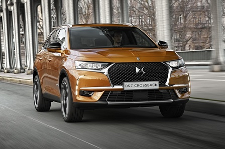 DS 7 Crossback is nieuwe premium crossover