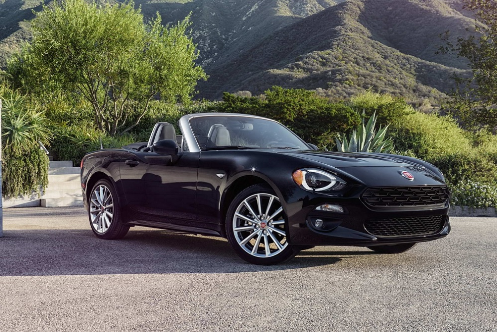 Fiat 124 Spider is officieel