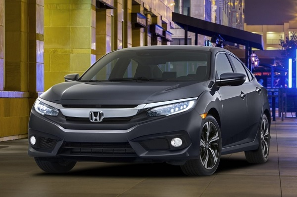 Nieuwe Honda Civic Sedan onthuld in VS