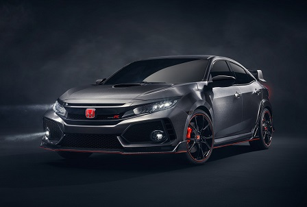 Honda verrast in Parijs met Civic Type-R Concept