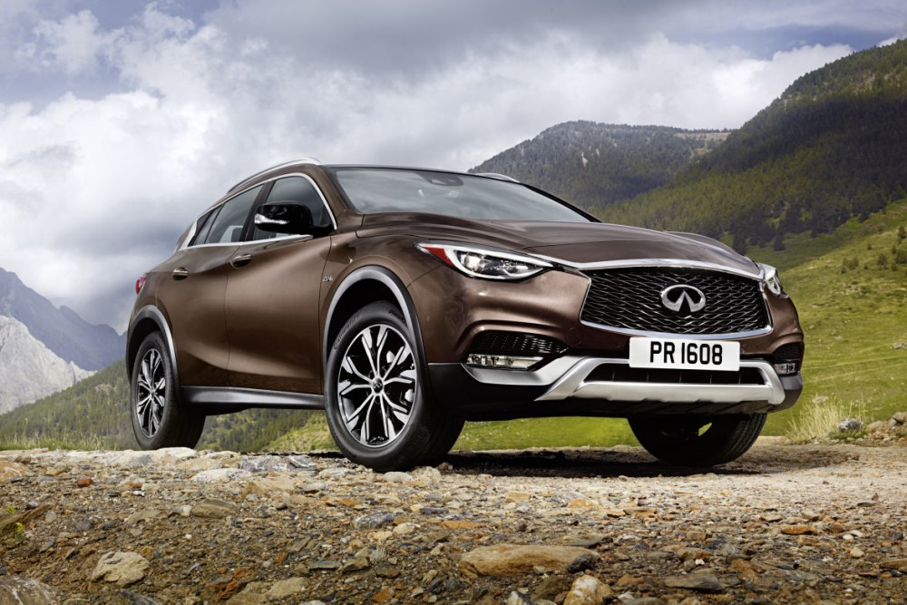 Infiniti QX30 is crossover op basis van Q30