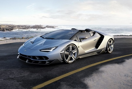 Lamborghini onthult Centenario Roadster in Pebble Beach