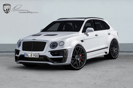 Bentley Bentayga aangepakt door Lumma Design