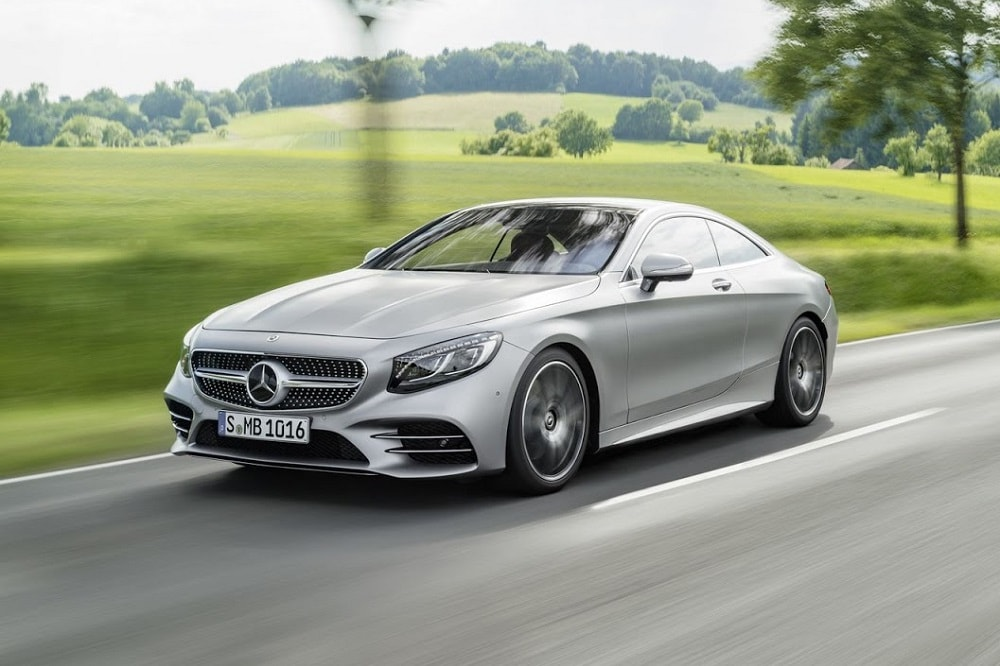 Afmetingen Mercedes S-Klasse Coupé 2021 S 560 4MATIC 469 ...