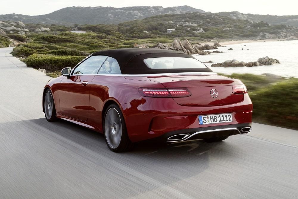 Mercedes E-Klasse Cabriolet prijs 2021 - Autotijd.be