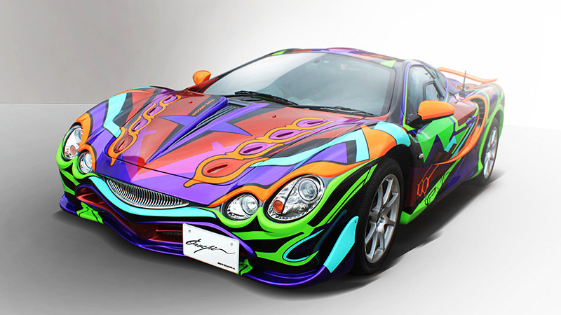 Mitsuoka Orochi Evangelion Limited Edition is bizarre one-off