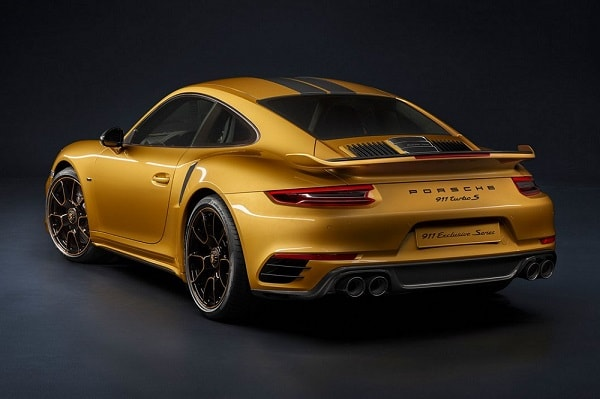 Porsche 911 Turbo S Exclusive Series is gelimiteerd snoepje met 607 pk
