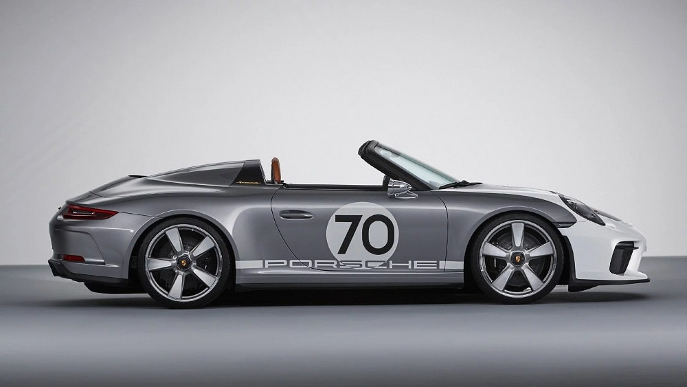Dit is de Porsche 911 Speedster Concept