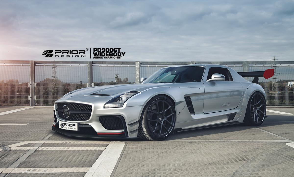 Prior Design showt Mercedes-Benz SLS AMG PD900GT