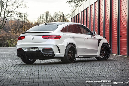 Mercedes GLE Coupé aangepakt door Prior Design