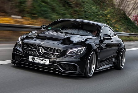 Prior Design pakt Mercedes S-Klasse Coupé aan