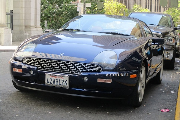 Gespot: Qvale Mangusta in San Francisco