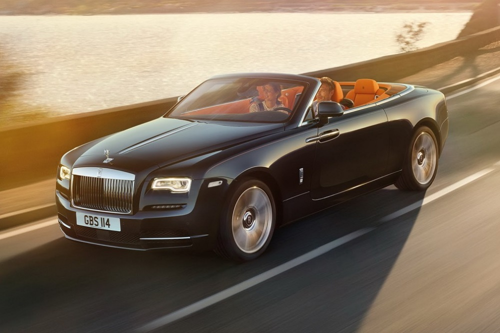 Dit is de Rolls-Royce Dawn