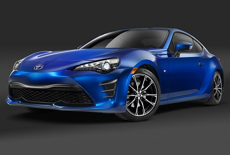 Toyota toont gefacelifte GT86 in New York