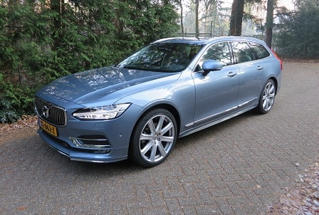 Rijtest: Volvo V90 D4 Geartronic Inscription